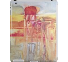 David Bowie meets Salvador Dali iPad Case/Skin