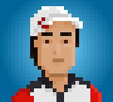Kei Nishikori by pixelfaces