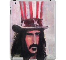 Frank Zappa (Top Hat) iPad Case/Skin