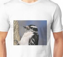 Female Downie Woodpecker Unisex T-Shirt
