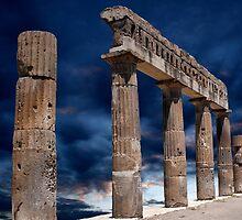Roman Ruin by John Wallace