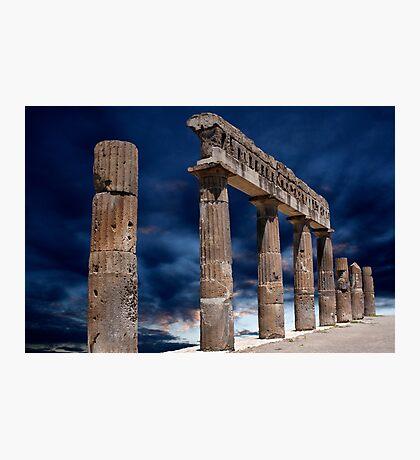 Roman Ruin Photographic Print