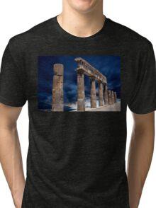 Roman Ruin Tri-blend T-Shirt