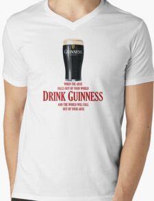 Drink Guinness Mens V-Neck T-Shirt