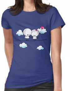 Let`s fall in love together Womens Fitted T-Shirt