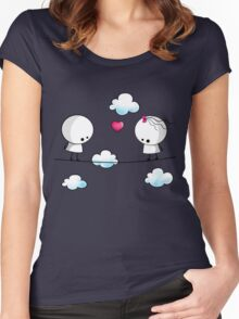 I could really fall for you Women's Fitted Scoop T-Shirt