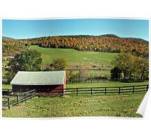 Farmland Foliage Poster