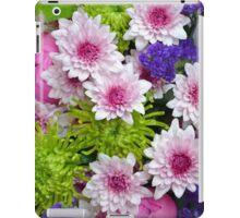Colorful floral spring bouquet iPad Case/Skin