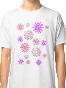 Cute baby flower patterns. Classic T-Shirt