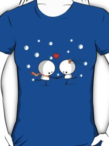 Dancing in the snow T-Shirt