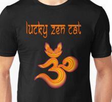 LUCKY ZEN CAT BRAND OMMMBLEM Unisex T-Shirt