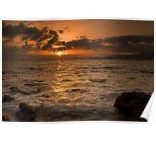 Mallorca: Last Rays Across the Bay Poster