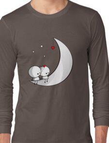 Sitting on the moon Long Sleeve T-Shirt
