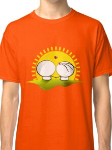 Looking at the sunset Classic T-Shirt