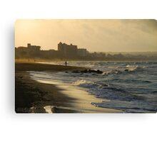 Mallorca: Real Beach Lovers Canvas Print