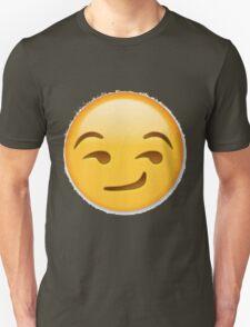 Smirking Emoji Unisex T-Shirt