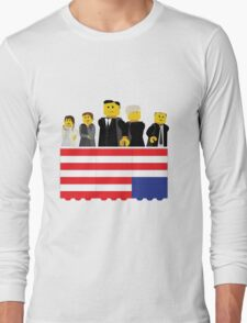 House of Cards Fan Art Long Sleeve T-Shirt