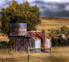 An Old Favourite - Kanmantoo, Adelaide Hills, South Australia by Mark Richards
