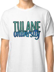 Tulane University Two Tone Classic T-Shirt