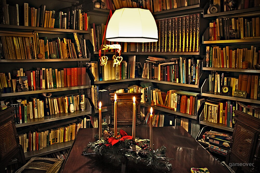 My room before Christmas by Luisa Fumi