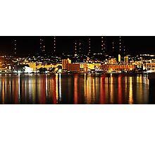 My Harbour city Photographic Print