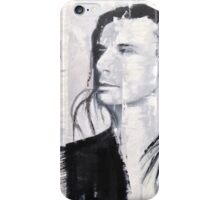 Steve Perry, Journey painting by William Wright iPhone Case/Skin