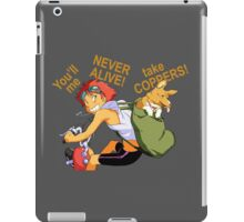 cowboy bebop edward anime manga shirt iPad Case/Skin