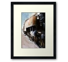 going loco Framed Print