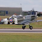 Spitfire MJ627 Twin Seater by Rees Adams