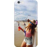 """Mia Von Glitz """"Sunset Stripper"""" quote iPhone Case/Skin"""