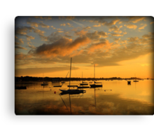 Point Abino Sunrise Canvas Print