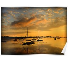 Point Abino Sunrise Poster