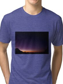 Sunrise on Mount Dandenong Tri-blend T-Shirt