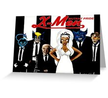 X Men Rock!  Greeting Card
