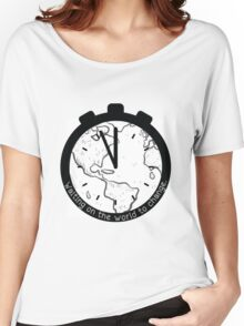 Waiting on the World to Change Women's Relaxed Fit T-Shirt