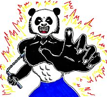 Sketchbook Project: When Pandas Attack by jasonyerface