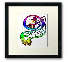 Superjail - The Warden's Welcome Framed Print