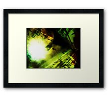 Through Something Painful I Pull My Story Of Submission... Framed Print