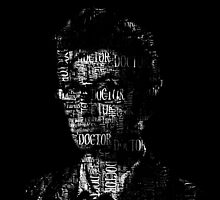 Doctor Who - The 10th Doctor - Word Cloud Image by IntWanderer