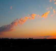 Snaking Sunset by MarianBendeth
