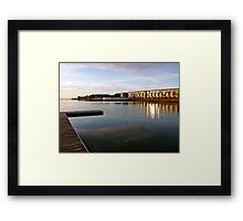 West Kirby, sunset Framed Print