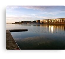 West Kirby, sunset Canvas Print