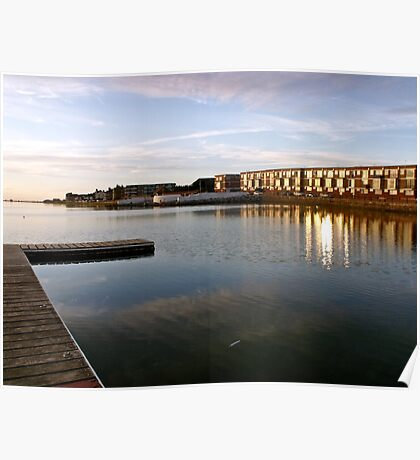 West Kirby, sunset Poster