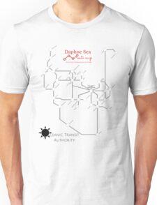 Daphne Sea Route Map Unisex T-Shirt