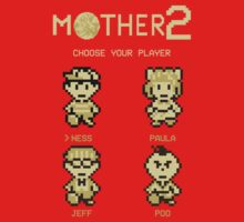 Mother 2 or Earthbound by HamsterDormilon
