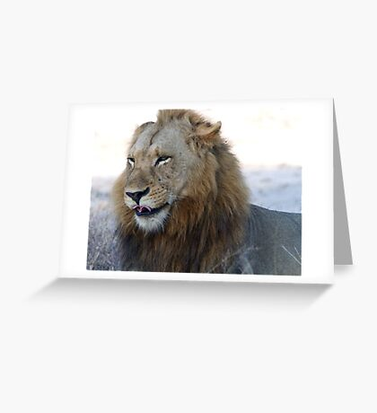 Can You Roll Your Tongue Like This ? Greeting Card