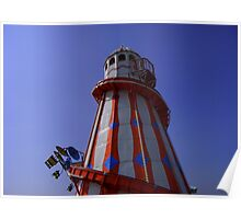 Clacton on Sea - Helter Skelter Poster
