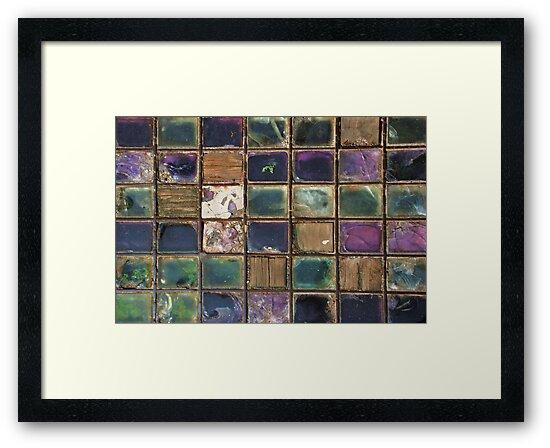 Lewes's Glass Patchwork Quilt by Celia Strainge