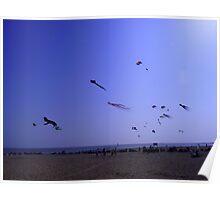 Clacton on Sea  - Kites Poster