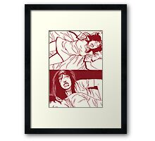 Awake!... from nightmare. Framed Print